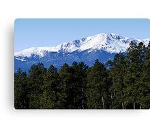 Some Pikes Peak Canvas Print