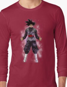 Goku Black Powering up Long Sleeve T-Shirt