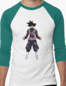 Goku Black Powering up Men's Baseball ¾ T-Shirt
