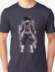 Goku Black Powering up Unisex T-Shirt