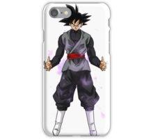 Goku Black Powering up iPhone Case/Skin