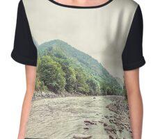 River Chiffon Top
