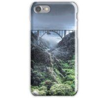 Bixby Bridge Through the Fog and Dale iPhone Case/Skin