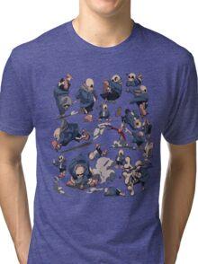 Sans - Undertale Tri-blend T-Shirt