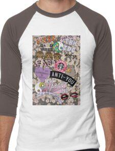The Cool Kids Phonecase Men's Baseball ¾ T-Shirt