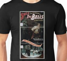 Performing Arts Posters Shea in the famous play The bells even the sound of bells may denounce a murderer 1435 Unisex T-Shirt