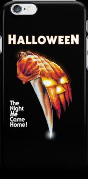 Halloween iPhone Case by hickmancv
