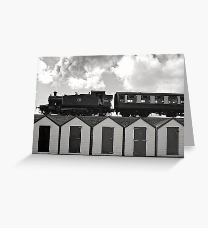 Goodrington Steam Train Greeting Card