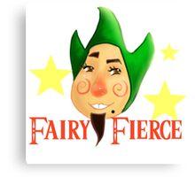 Fairy Fierce Canvas Print