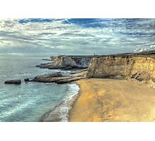 Panther Beach from Cliffs Photographic Print