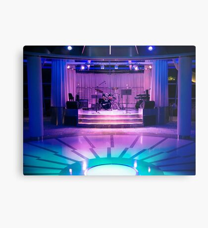 The Band Stage Metal Print