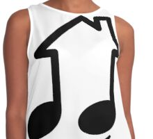 House Music Happiness Contrast Tank