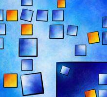 Cublerossia V1 - falling cubes Sticker
