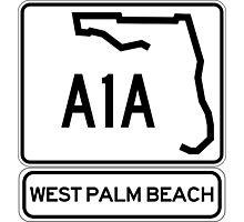 A1A - West Palm Beach Photographic Print