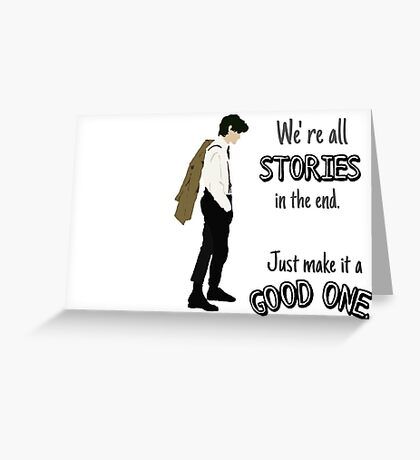 Doctor- Stories Greeting Card