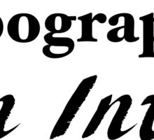 Typography: An Intro Sticker