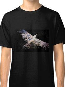 Corvid Lino Cut Print Classic T-Shirt