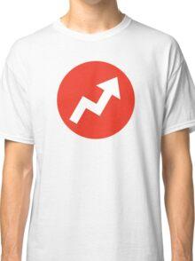 Buzzfeed Logo Red Classic T-Shirt