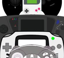video games controllers Sticker