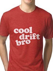 Cool drift bro - red Tri-blend T-Shirt