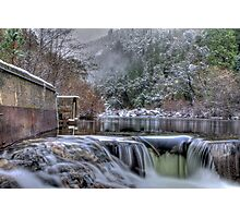 Winter At Tiger Creek Reservoir 2 Photographic Print