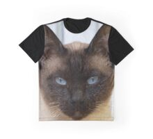 Gorgeous Bluepoint Siamese Cat Graphic T-Shirt
