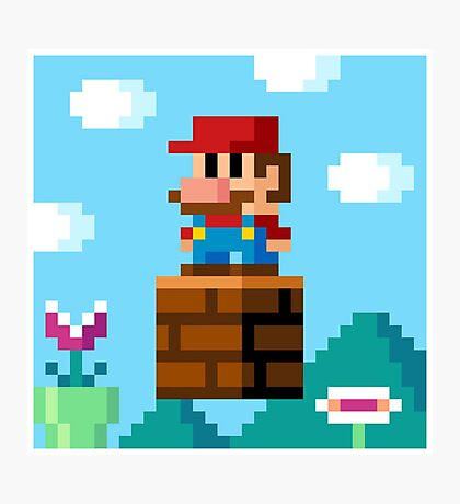 pixel World Photographic Print
