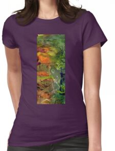 Summer Triptych III Womens Fitted T-Shirt