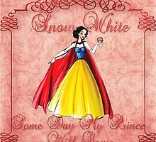 Designer Snow White T-shirt and Totes by lmcarlos