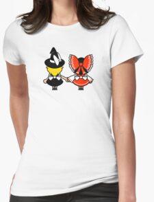 Black/White + Red/White T-Shirt