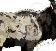 Elk buck Sticker