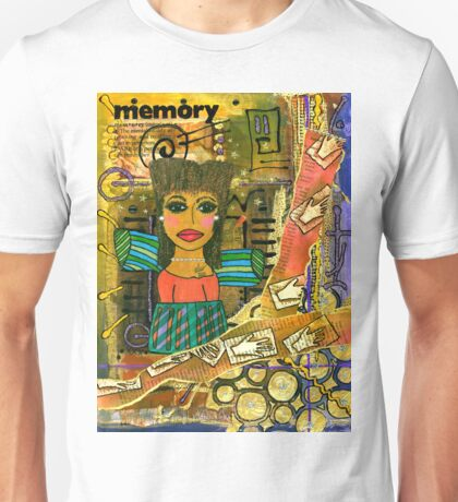 The Angel of Fond Memories Unisex T-Shirt