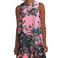 Madagascan Sky in Pink A-Line Dress