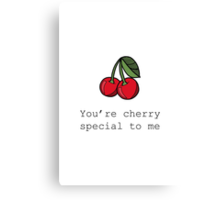 Cherry Special Canvas Print