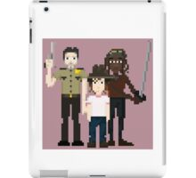 The Walking Dead - Rick, Carl and Michonne iPad Case/Skin