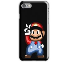 Mario 16 Bit iPhone Case/Skin