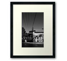 Beautiful Keswick- Sylvia's Deli Framed Print