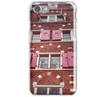 Amsterdam canal house  iPhone Case/Skin