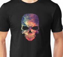 Universe - Space - Galaxy Skull Unisex T-Shirt