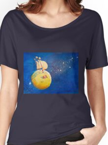 Sailing the Moon Women's Relaxed Fit T-Shirt
