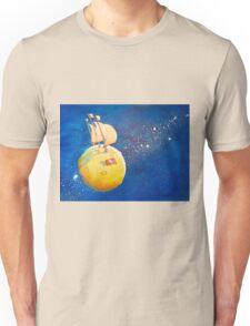Sailing the Moon Unisex T-Shirt