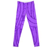 Line Art - The Curves, purple Leggings