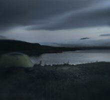 the tent at Mývatn by Rebecca Tun