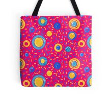 Candy Wave | Pink Pattern #redbubble #decor Tote Bag