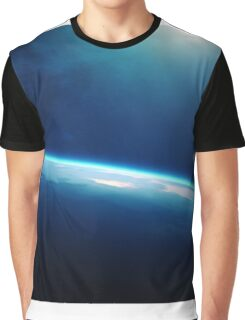 Planet earth sunrise from space Graphic T-Shirt
