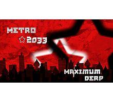 Metro 2033 Photographic Print