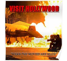Visit Hollywood Poster