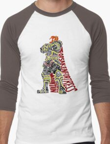 Ganondorf Typography Men's Baseball ¾ T-Shirt