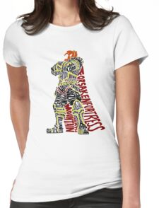 Ganondorf Typography Womens Fitted T-Shirt