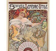 Alphonse Mucha - Bisquits  Photographic Print